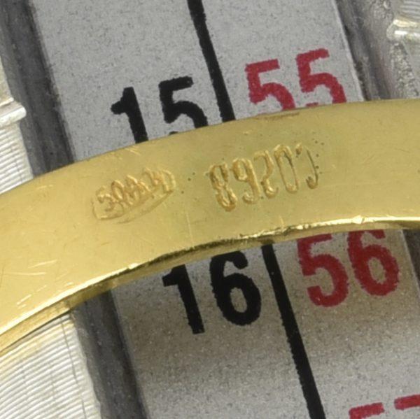 | Anillo de oro 18K Talla 56 (ø 17.8 mm)