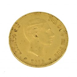 Moneda Alfonso XII