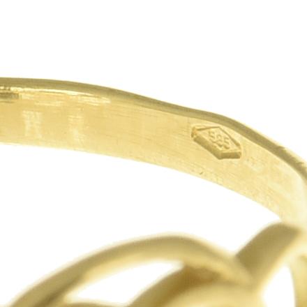   Anillo de oro 14K Talla 56 (ø 17.8 mm)