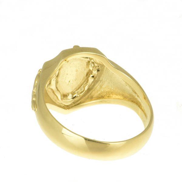 | Anillo de oro 14K Talla 66 (ø 21.0 mm)